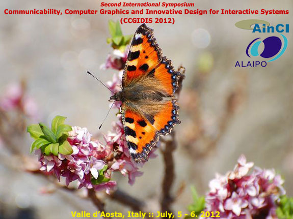 International Symposium CCGIDIS 2012 :: Valle d'Aosta, Italy :: July 5 - 6, 2012