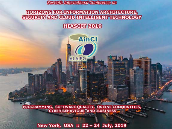 7th International Conference on Horizons for Information