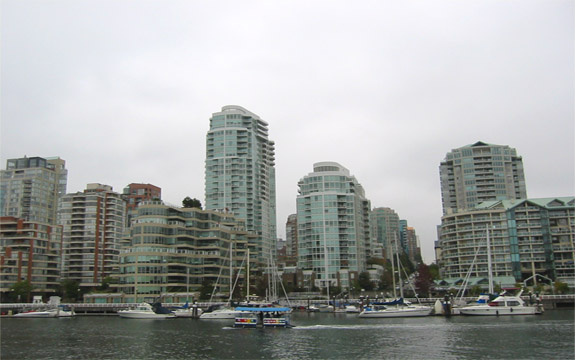 Vancouver City from False Creek