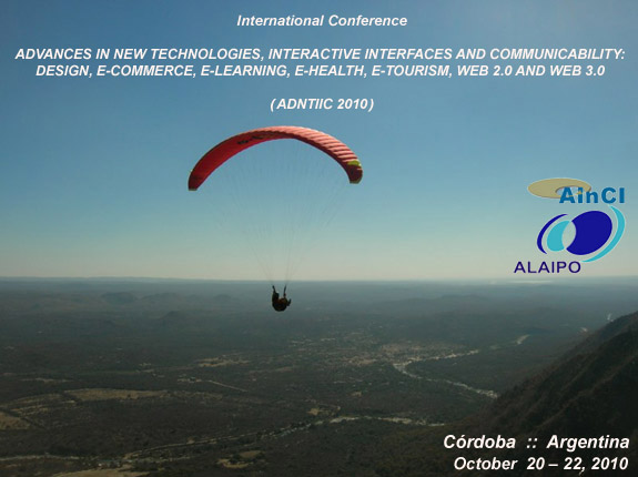 International Conference ADNTIIC 2010 - Córdoba :: Argentina